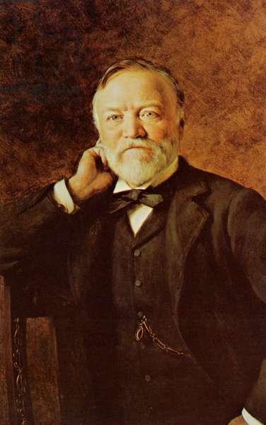 Andrew Carnegie American philanthropist