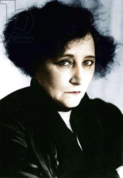 Sidonie Gabrielle Colette, 20th century (photo)