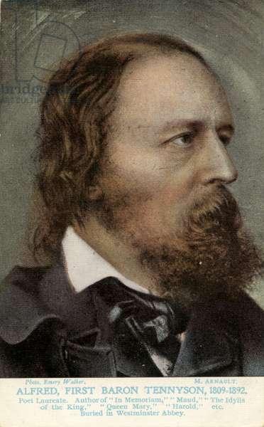 Lord Tennyson - portrait