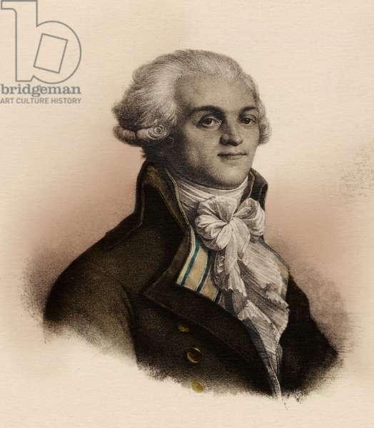 Robespierre - portrait -