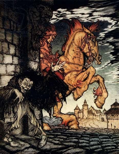'Metzengerstein' by Edgar Allan Poe