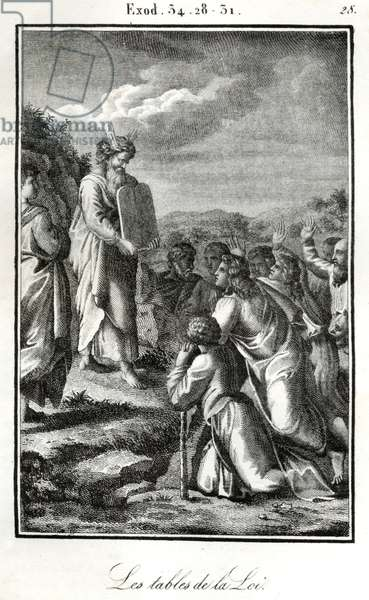 Bible Moses showing the
