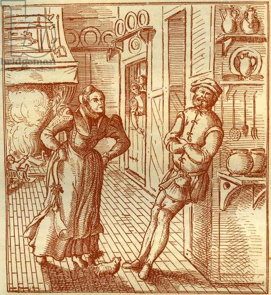 George Hoefnaghel - engraving