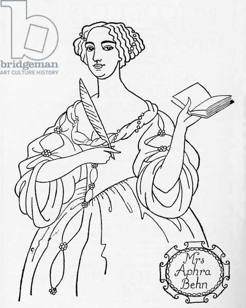Aphra Behn - dramatist