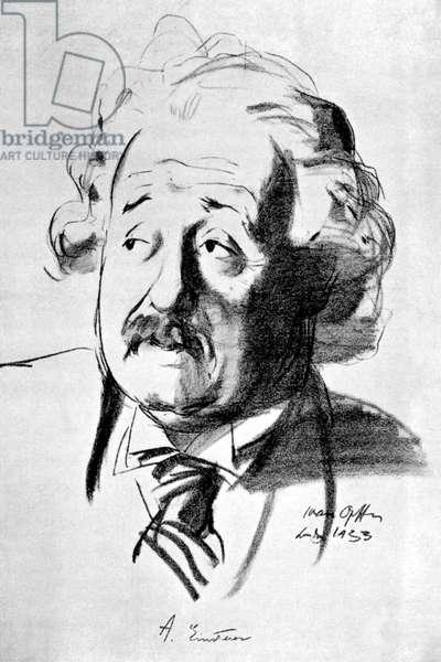 Albert Einstein - portrait