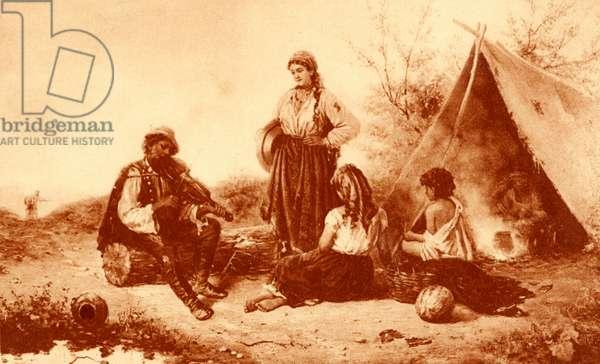 GYPSY Camp seated gypsy
