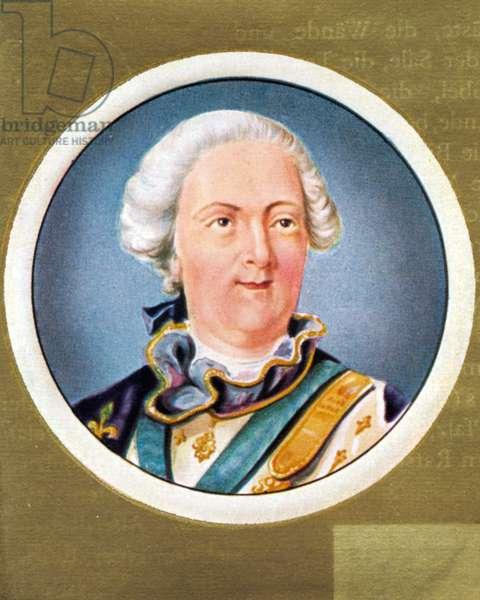 Louis XV Portrait of