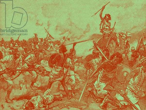 Mahdist revolt at Suakim