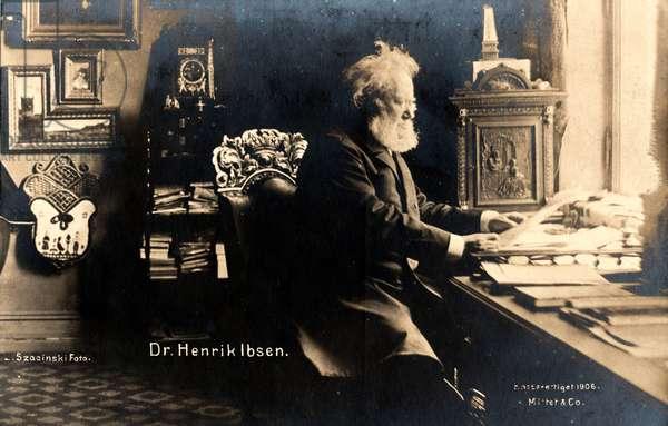 IBSEN Henrik Norwegian playwright
