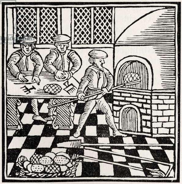 Preparing the unleavened bread
