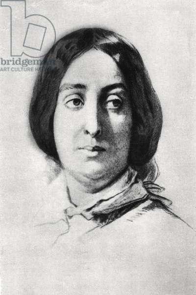 George Sand - portrait