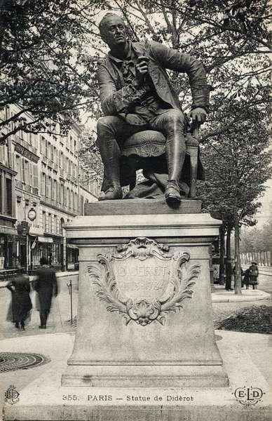 Denis Diderot  statue