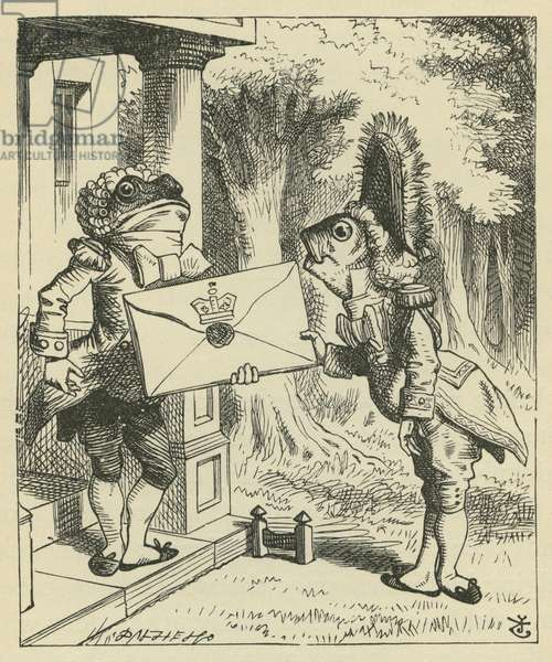 The Fish-Footman, Lewis Carroll
