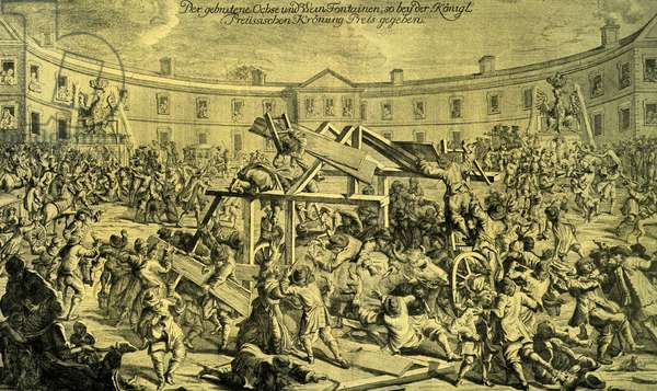 Celebrations after the coronation