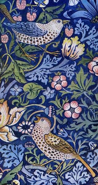 William Morris - Design for The Strawberry Thief