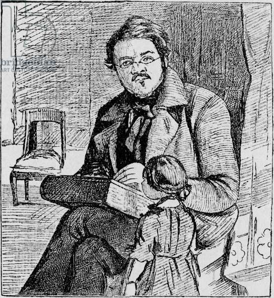 William Makepeace Thackeray with
