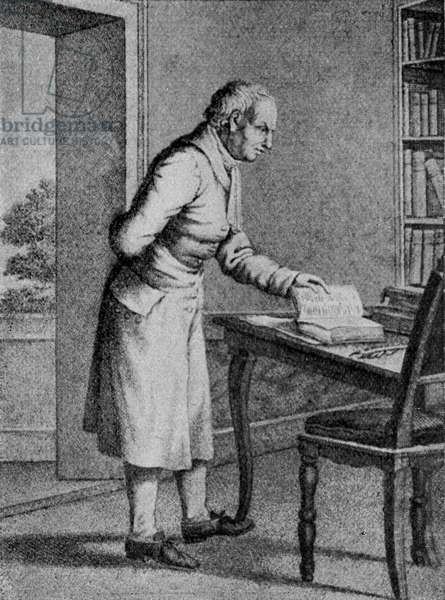 Samuel Johnson - drawing