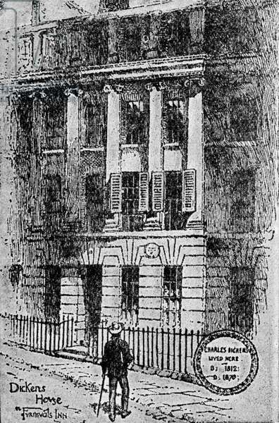 Dickens's Chambers - in