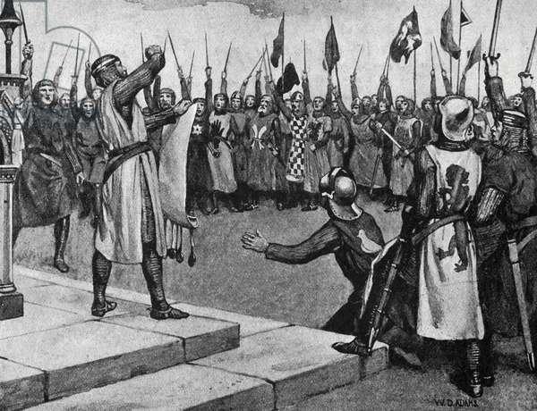 Magna Carta - illustration