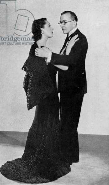 Noel Coward & Gertrude
