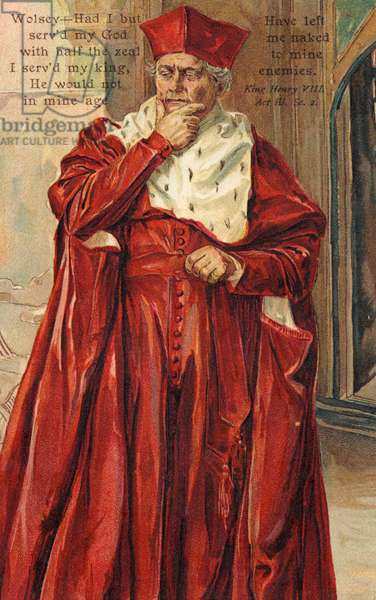 Cardinal Thomas Wolsey in