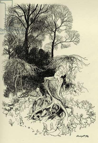Peter Pan and Fairies
