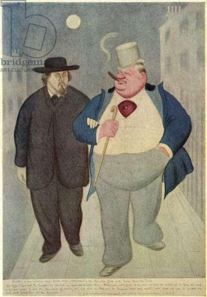 Gabriel Rossetti with George Sala