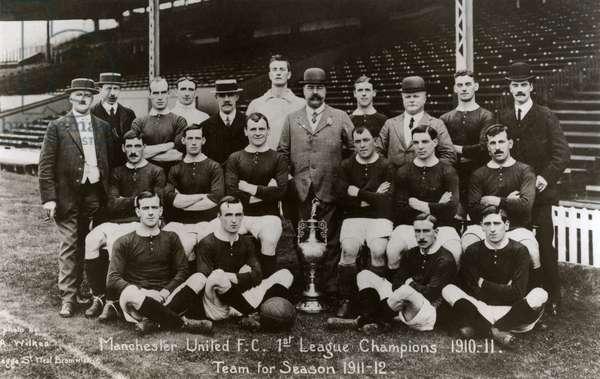 Manchester United football team for 1911-1912 season