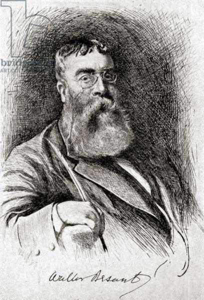 Walter Besant - portrait