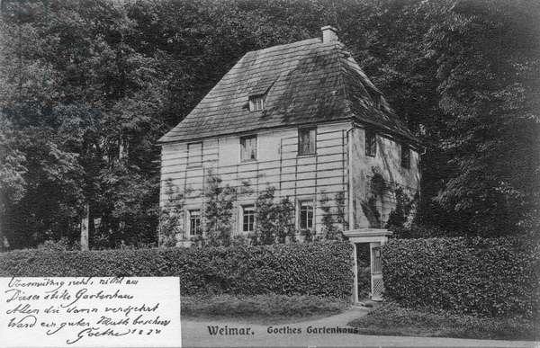 Goethe 's garden house, Weimar