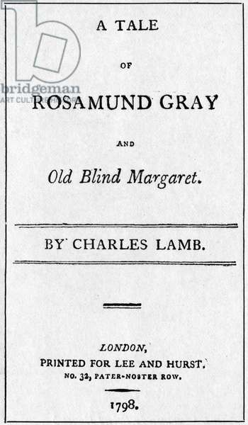 'Tale of Rosamund Gray'
