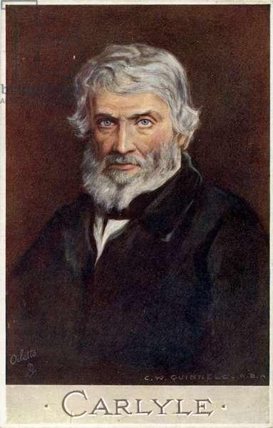 Thomas Carlyle - portrait