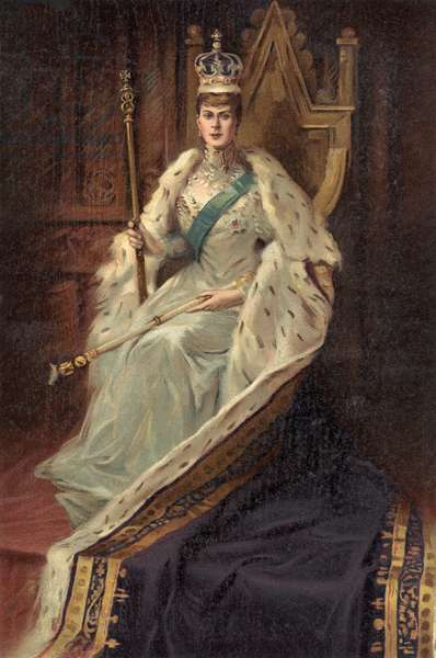 Queen Mary, consort Of King George V