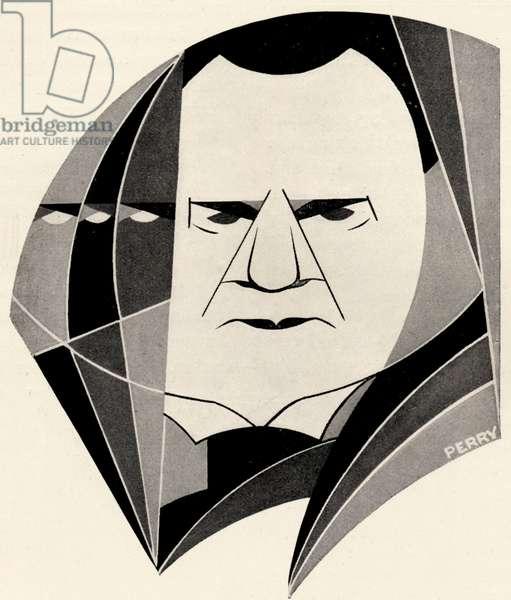 Hilaire Belloc - portrait