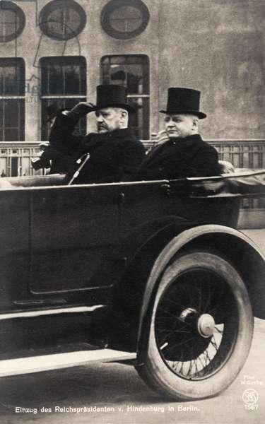 Paul von Hindenburg (President)