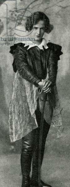 Pauline Chase as Peter Pan