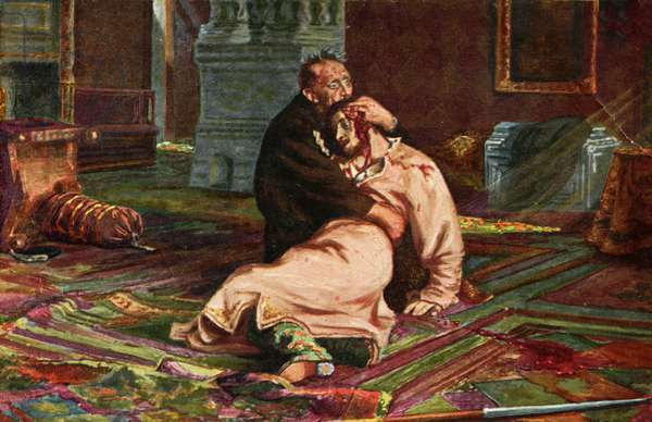 Ivan the Terrible and son