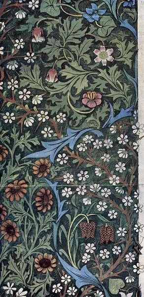 John Henry Dearle - Design for Blackthorn Wallpaper