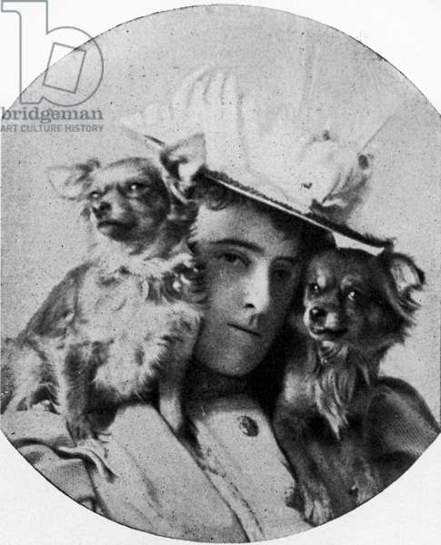 Edith Wharton with her