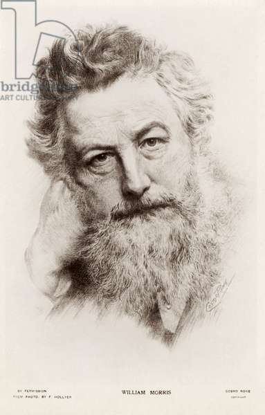 William Morris - portrait