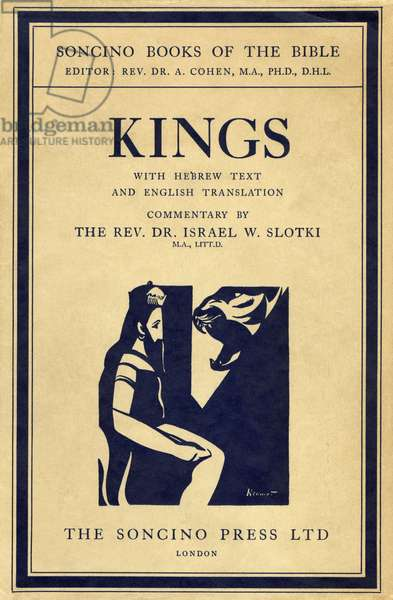 'Kings I and II' book cover - Bible