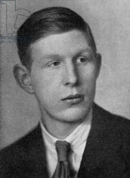 W.H.Auden - as a young man