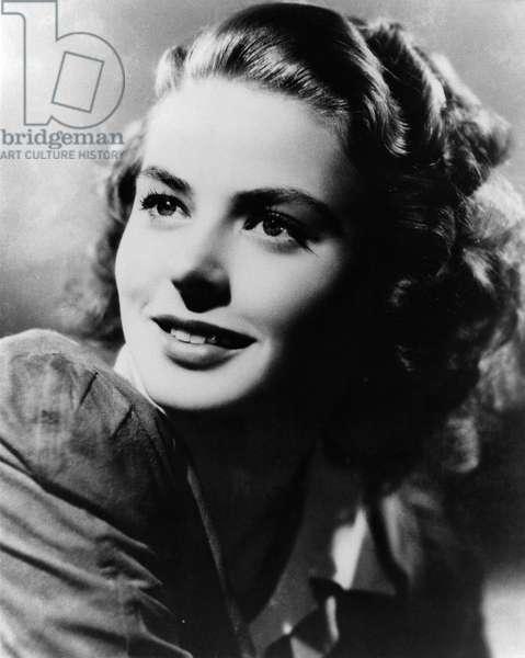 Ingrid Bergman portrait Swedish
