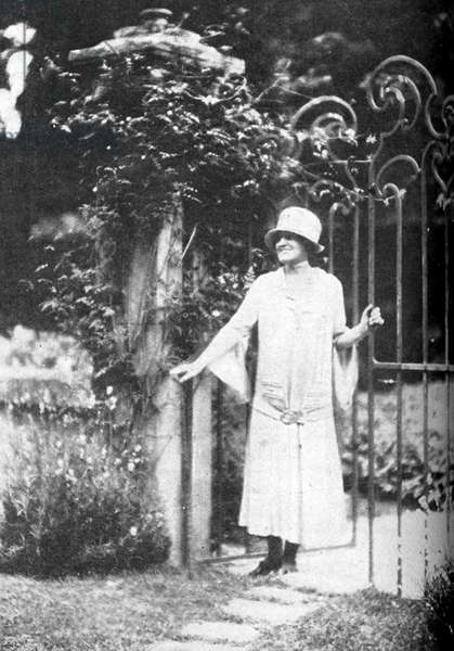 Edith Wharton - portrait