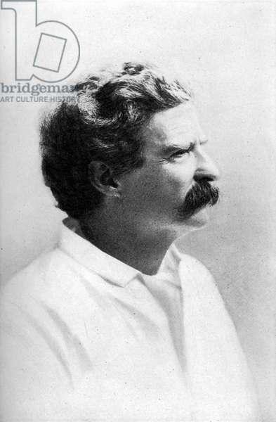 Mark Twain aged 50