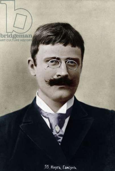 HAMSUN Knut - portrait