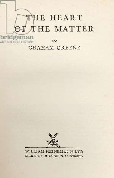 Graham Greene 's novel