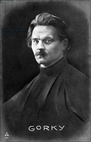 Maxim Gorky - portrait
