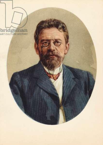 Anton Chekhov Russian author