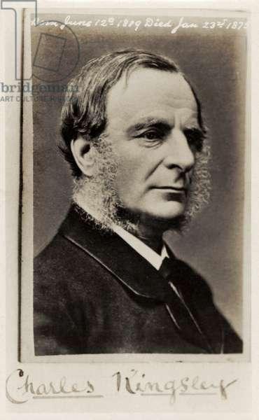 Charles Kingsley portrait photograph